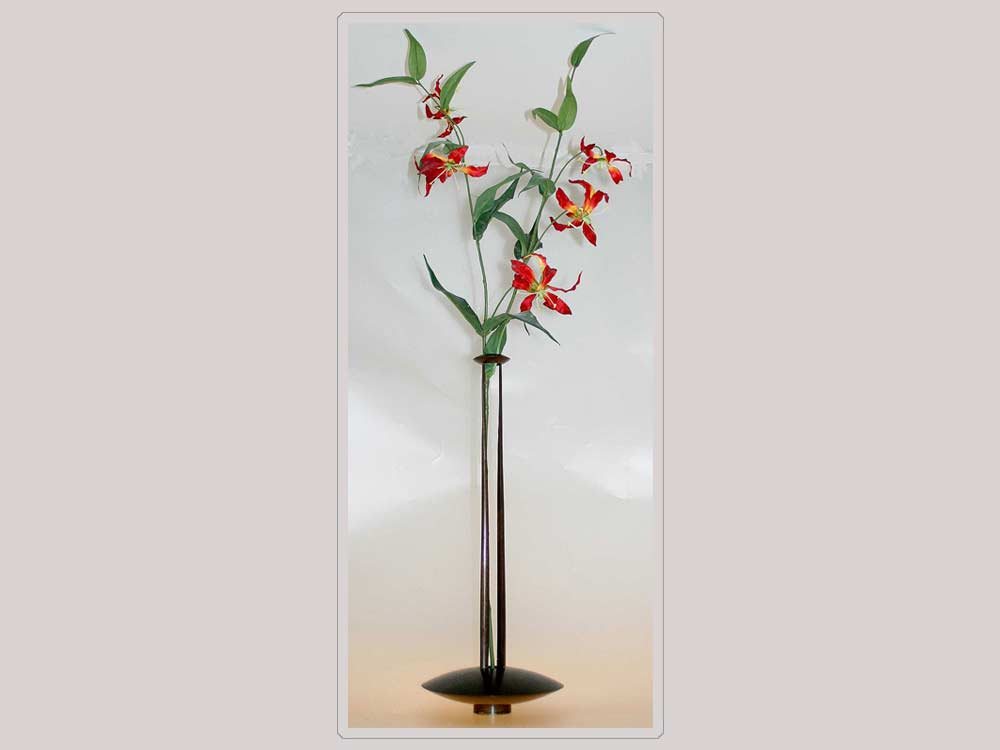 Custom Vase with Flowers